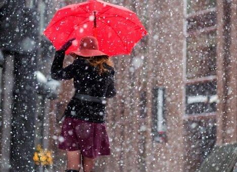 Циклон принесет во Владивосток снег с дождем