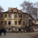 В историческом районе Владивостока обрушилось здание (Фото)