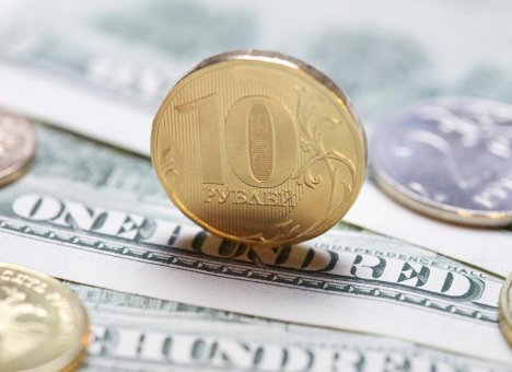 Рубль резко укрепляется к доллару