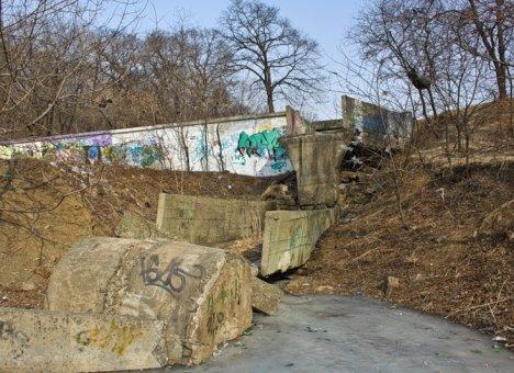 Парк Минного городка во Владивостоке обречен на прозябание