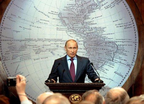 Владимир Путин поручил переписать карту Мира