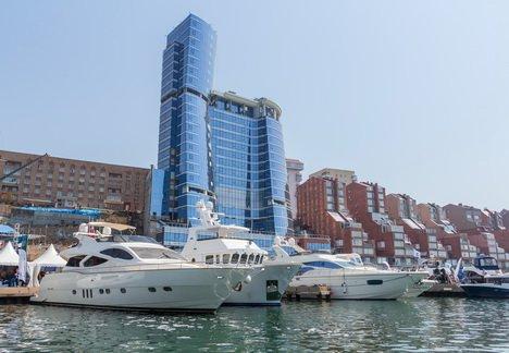 Десятая юбилейная выставка катеров и яхт Vladivostok Boat Show X
