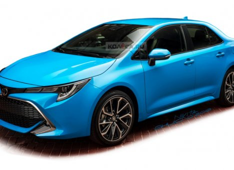 Toyota решилась на новую Corolla