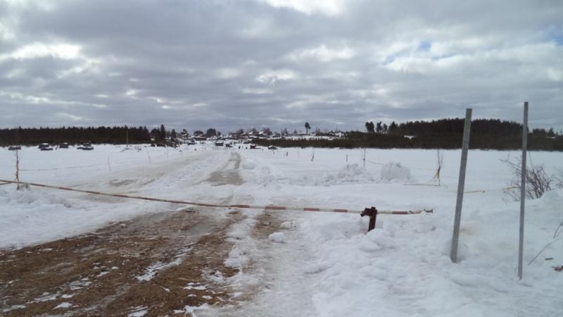 Три ледовых переправы закрыли в Карелии