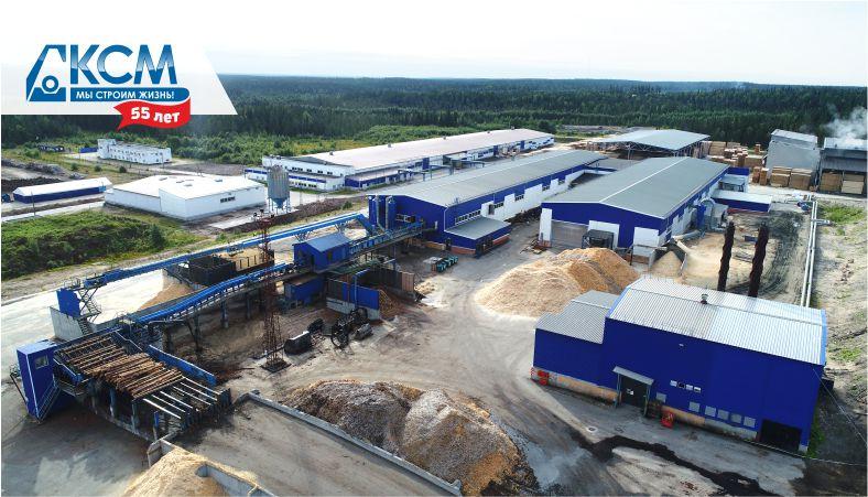 «Мы строим жизнь»: лесоперерабатывающий комплекс в Костомукше