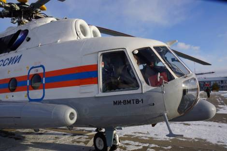 Выясняются обстоятельства падения вертолета в Хабаровском крае