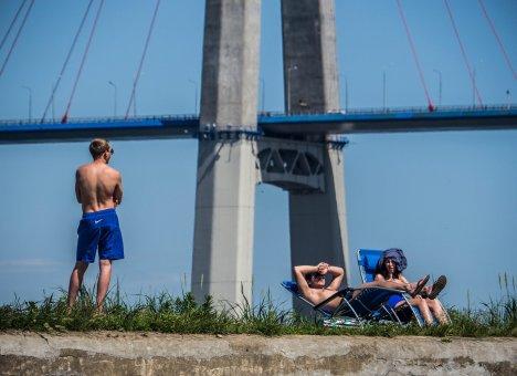 Крымский мост возводили, опираясь на опыт строительства Русского моста