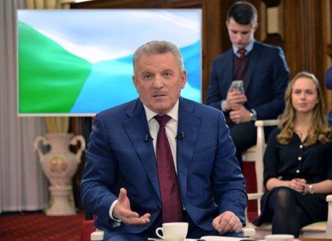 Шпорт решил остаться губернатором Хабаровского края