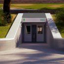 Cамый большой во Владивостоке общественный туалет заработает на Спортивной набережной