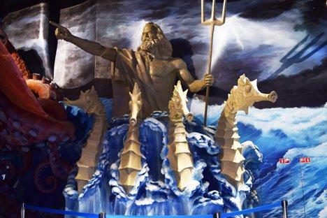 Подводный мир увлекает туристов