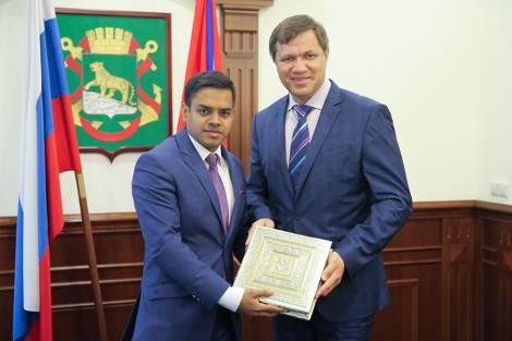 Во Владивостоке состоится День индийского инвестора