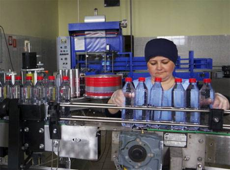 Первая партия бутилированной артезианской воды из Камчатского края отправлена в Китай