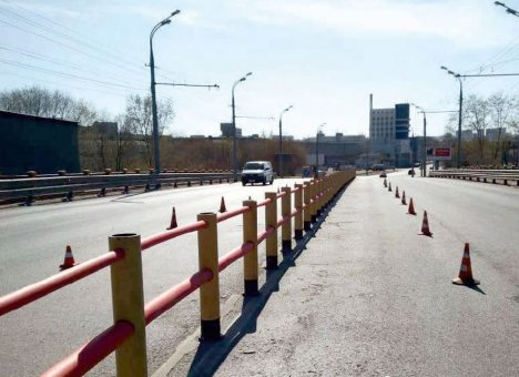 Встречные полосы на трассах разделят ограждения нового образца