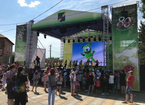 Город Лесозаводск в Приморье отметил юбилей