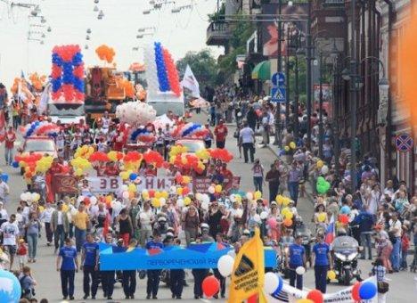 Жителей Владивостока приглашают на праздничное шествие