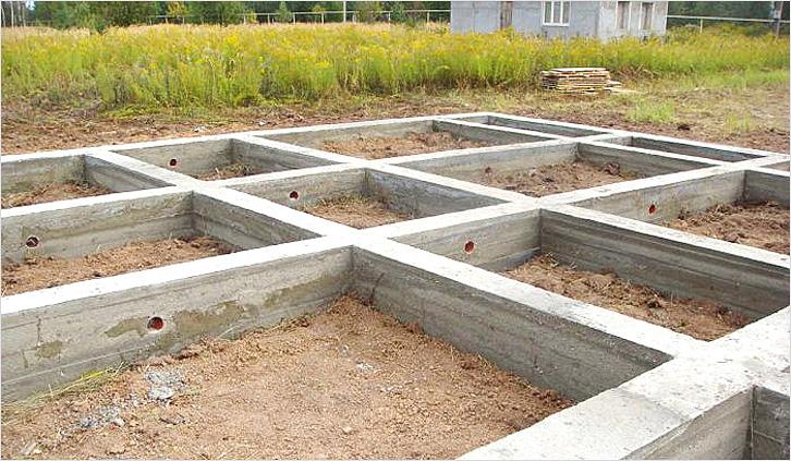 Ленточный фундамент в Твери под ключ