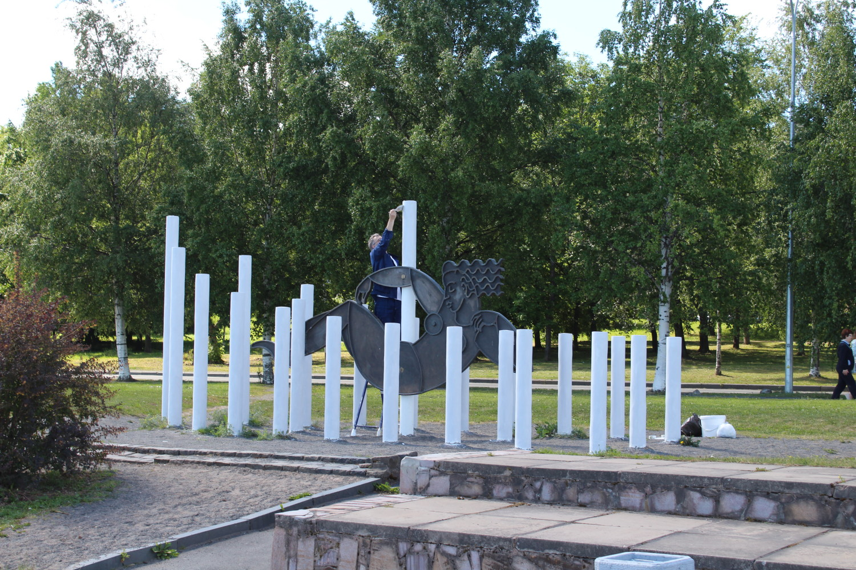 Ремонт на набережной Петрозаводска закончится ко Дню города