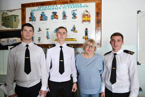 Выпускники Владивостокского рыбопромышленного колледжа устроились на работу ещё до выпуска