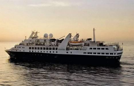 Круизный лайнер Silver Explorer побывал на Камчатке