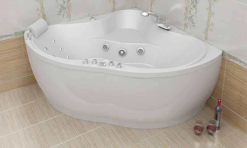 Широкий ассортимент акриловых ванн