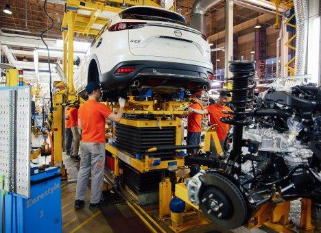 Завод автодвигателей Mazda в Приморье обзавелся корпусом основного производства
