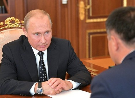 Тарасенко пожаловался Путину на