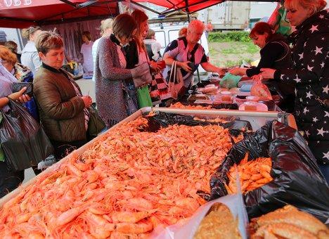 Городская ярмарка во Владивостоке заработает через неделю