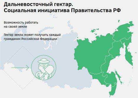Более 11 тыс. человек из 75 регионов России получили дальневосточный гектар в Приморье