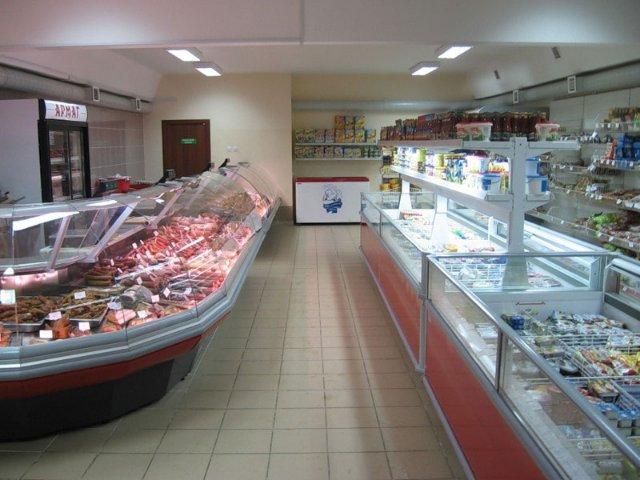 Торговое оборудование для продуктового магазина