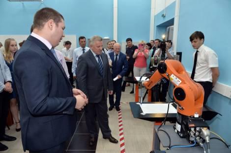 В Комсомольске-на-Амуре открылся Научно-образовательный центр робототехники