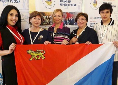 Приморский край принял участие во всероссийском Конгрессе народов России