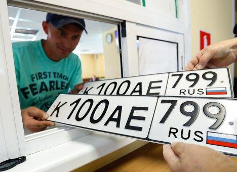 Путин разрешил регистрировать автомобили без похода в ГИБДД