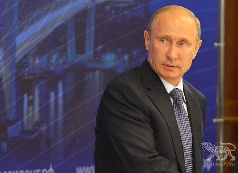 Президент России Владимир Путин собирается во Владивосток