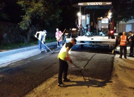 Во Владивостоке продолжается аварийно-восстановительный ремонт дорог