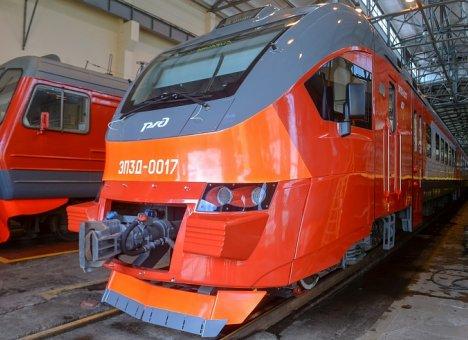 В Приморье прибыла первая новая электричка