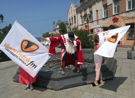 Дед Мороз привёз лето в Приморье!