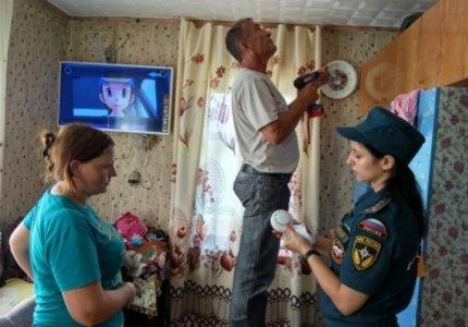 Дома жителей Дальнего Востока оснащают современными средствами обнаружения пожара