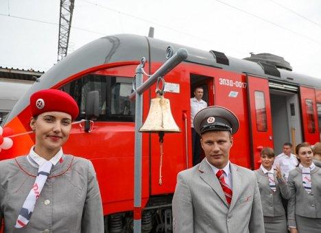 Новая электричка будет ходить из Владивостока по 10 маршрутам