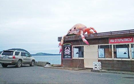 Во Владивостоке съели всех крабов