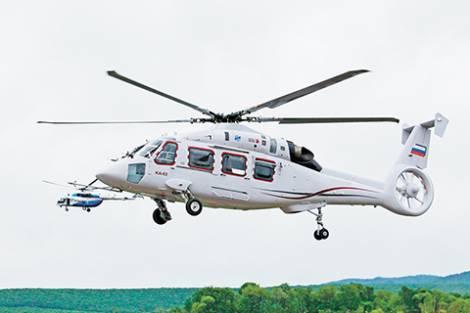 Вертолет Ка-62 представят на ВЭФ-2018 во Владивостоке
