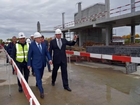 Новый аэровокзал внутренних авиалиний в Хабаровске будет сдан через год