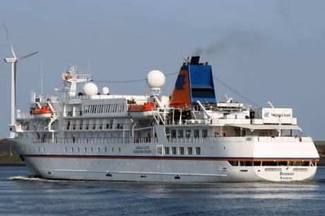 Круизный лайнер Bremen зашел в порт Петропавловска-Камчатского