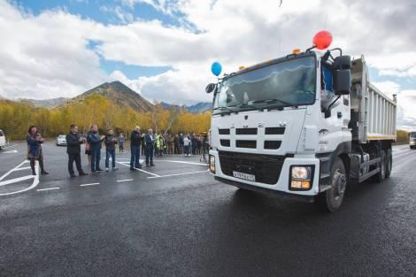 Дан старт движению по новому участку трассы Петропавловск-Камчатский – Мильково