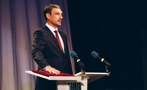 В Благовещенске прошла инаугурация губернатора Амурской области Василия Орлова