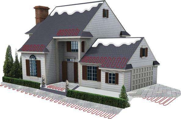 Снеготаяние и антиобледенение вашего дома