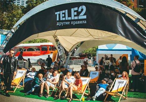 В Приморье более тысячи абонентов Tele2 посетили фуд-фестиваль по другим правилам