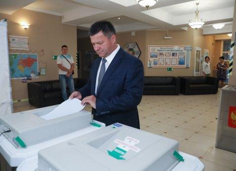 Губернатора Приморья определят во втором туре