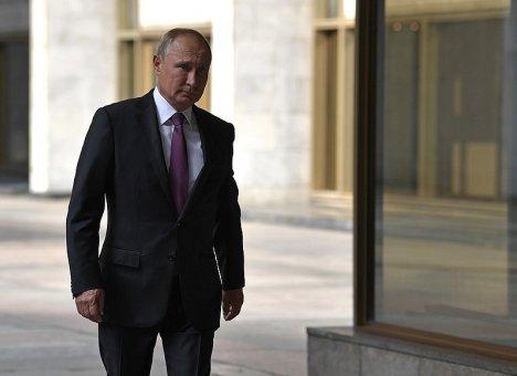 Путин прилетел во Владивосток