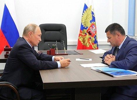 Тарасенко обратился к Путину с просьбой от всех приморцев