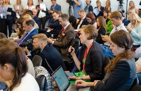 Участники ВЭФ во Владивостоке удвоили свою интернет-активность